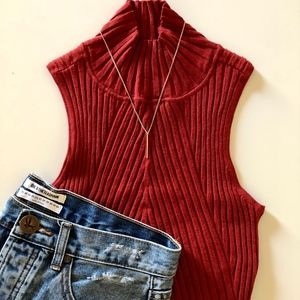 Privacy Please Ribbed Tank | S